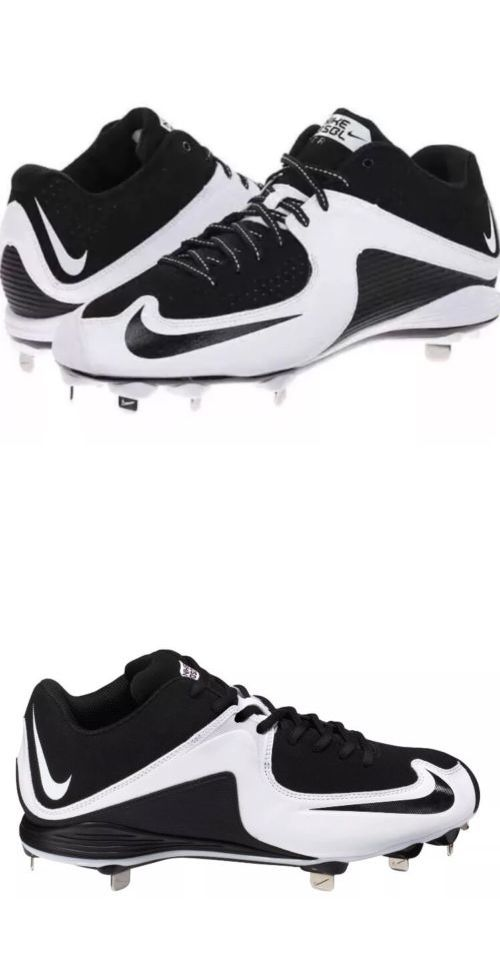 Mens 159059: Nike Mvp Strike 2 Low Metal Baseball Cleats Men S Size 11 Bandw