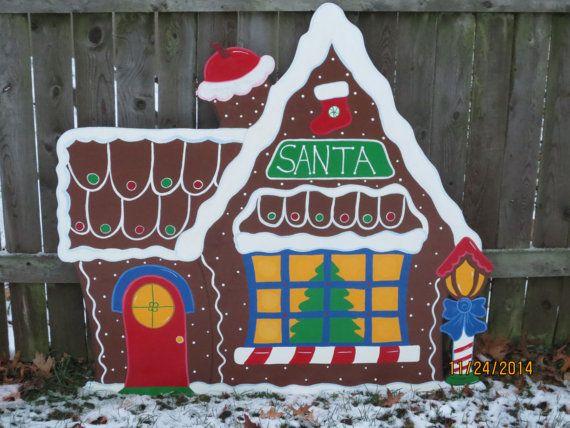 Gingerbread Man Christmas Yard Decoration Updated Christmas Yard Art Christmas Yard Decorations Christmas Wood
