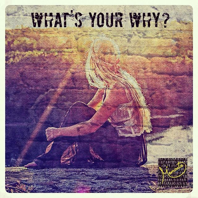 """Know your why. This is the driving force behind everything."" #mymomentalife , #purpose , #streetart"