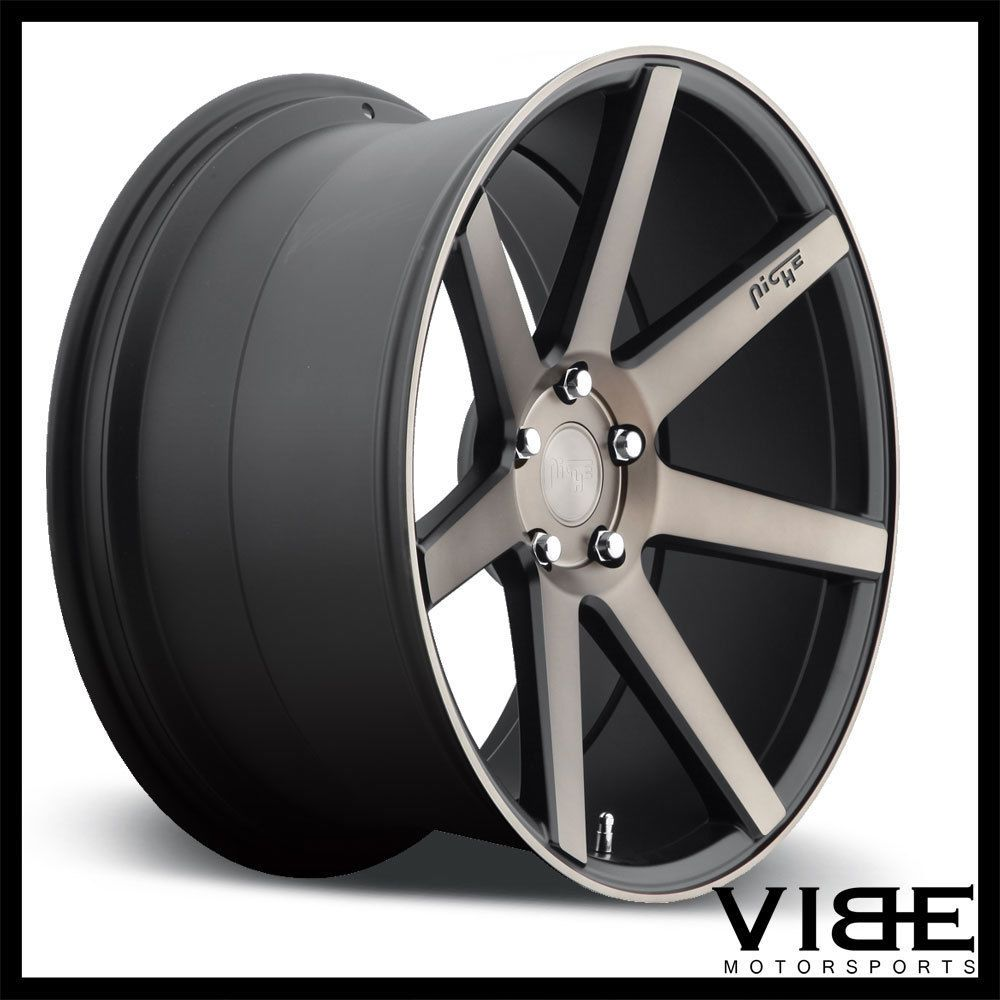 20 niche verona machined concave wheels rims fits benz w218 cls550 cls63