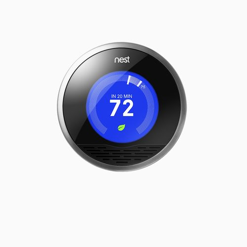 Nest Learning Thermostat - $249    Connect to WiFi and control your thermostat from your smartphone, laptop or tablet.