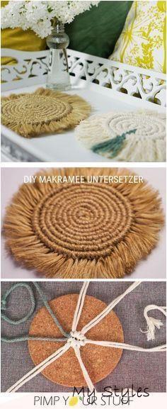 31.01.2020 – DIY Makramee Untersetz