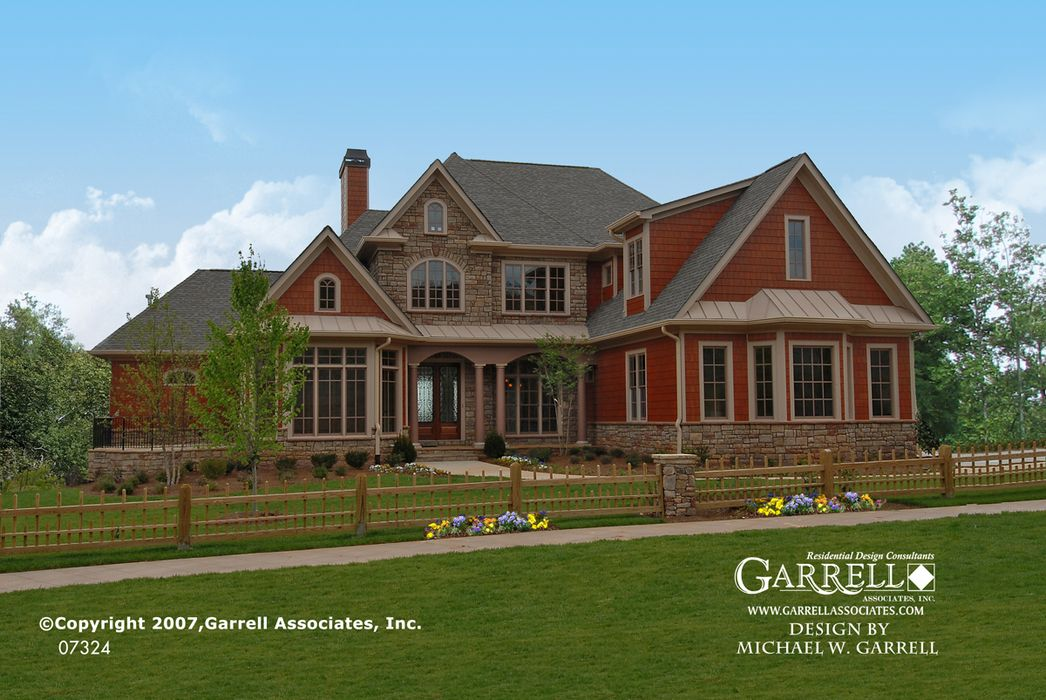 Garrell Associates, Inc.Ashton Manor House Plan 07324,European ...