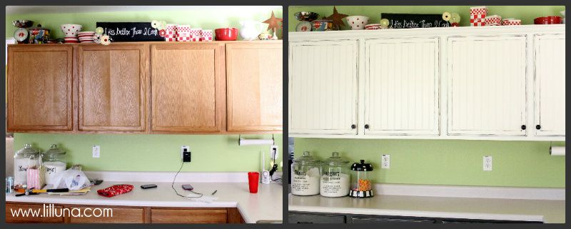 simple kitchen makeovers | Easy Kitchen Cupboard Makeover | home ...