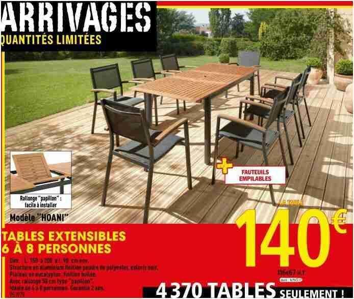 47 Tendance Table De Jardin Magasin Leclerc