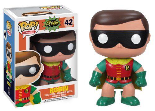 New Funko POP Heroes Batman 1966 Vinyl Figure Free Shipping
