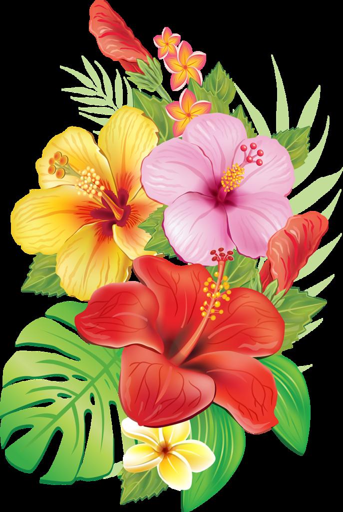 Красивые мультяшные картинки цветов