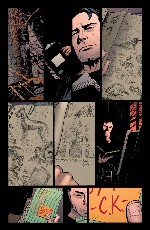 batman and robin 18 - Damian's Draws