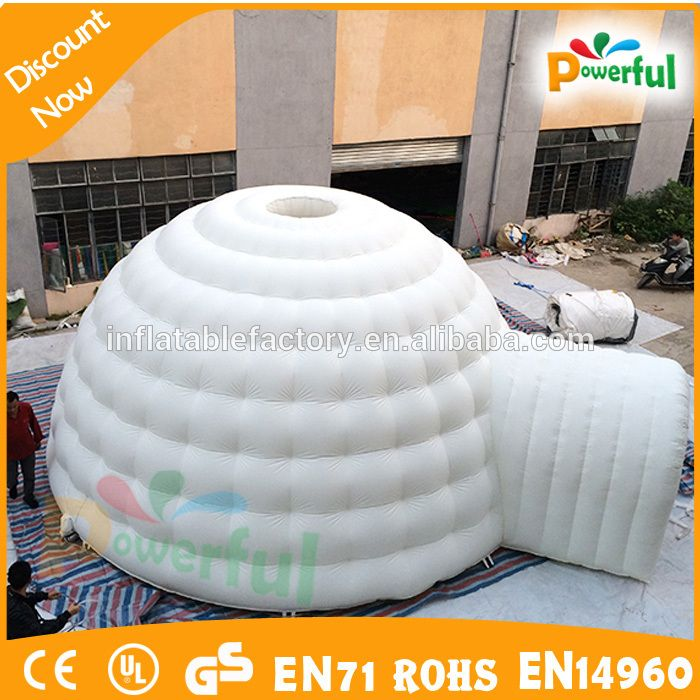 Commercial outdoor c&ing bubble tent/white inflatable igloo tent/inflatable tent for kids & Commercial outdoor camping bubble tent/white inflatable igloo tent ...
