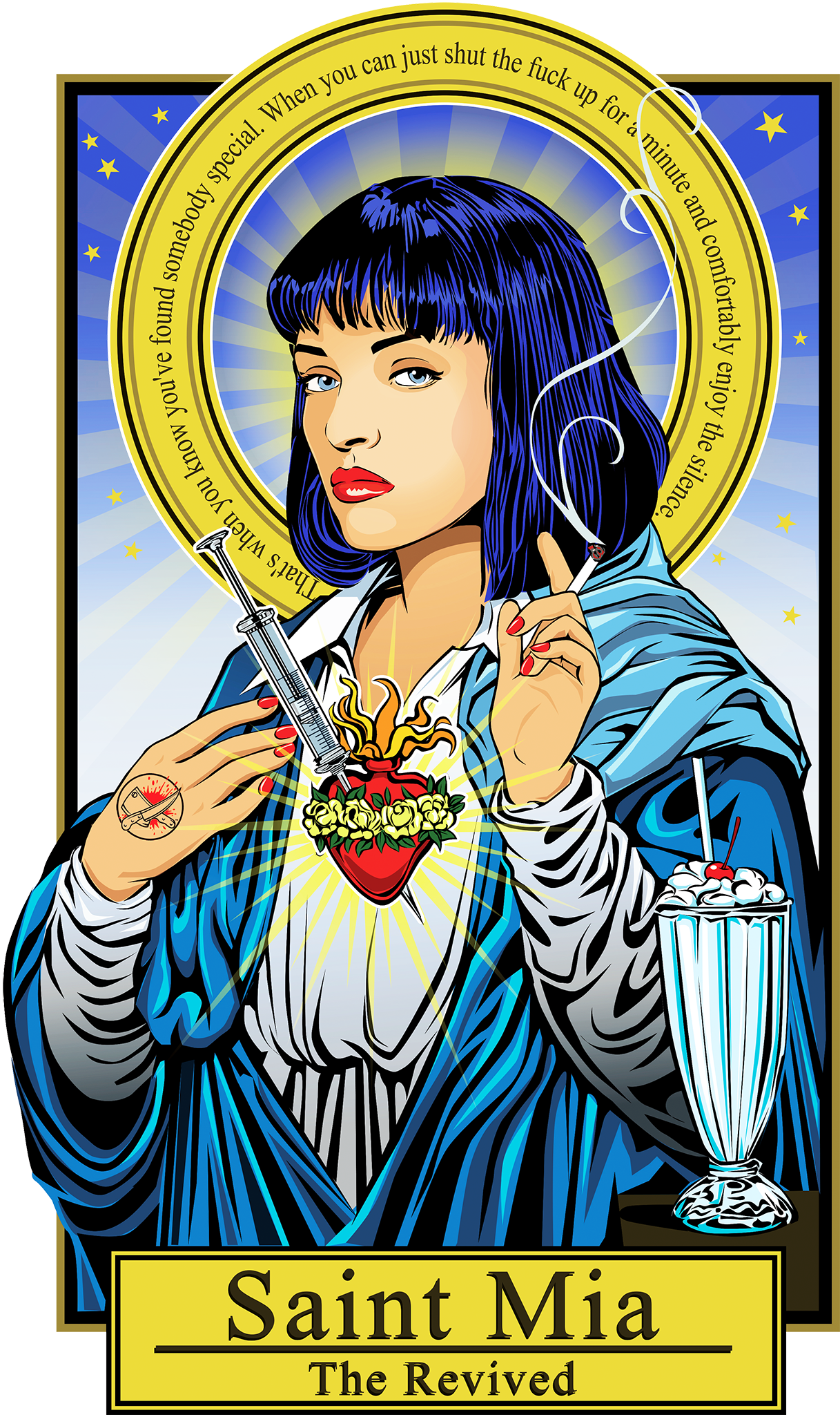 Saint Mia-The Revived Poster