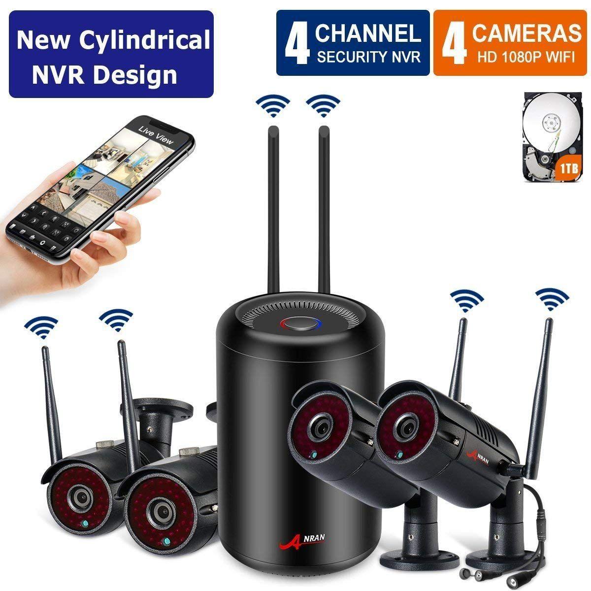 e9e15b87f  New NVR Arrival Security Camera System Wireless