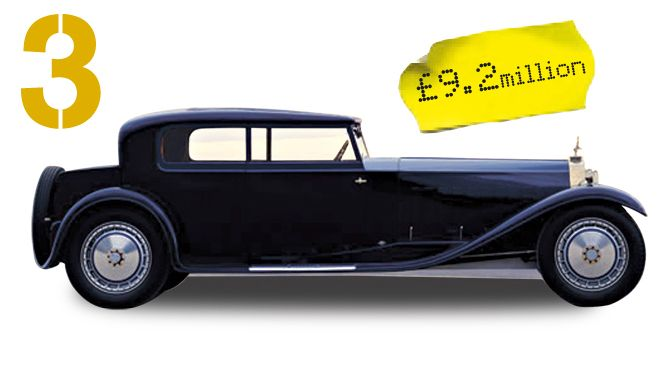 the most expensive luxury classic cars - 1931 bugatti royale