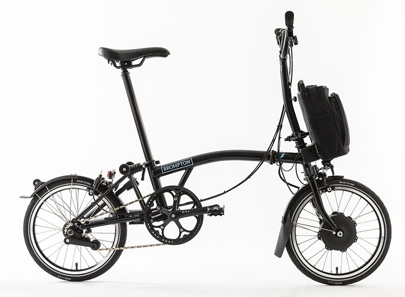 Brompton Electric Bicycle Fuses Folding Ability With Portable Battery Folding Electric Bike Best Electric Bikes Electric Bike