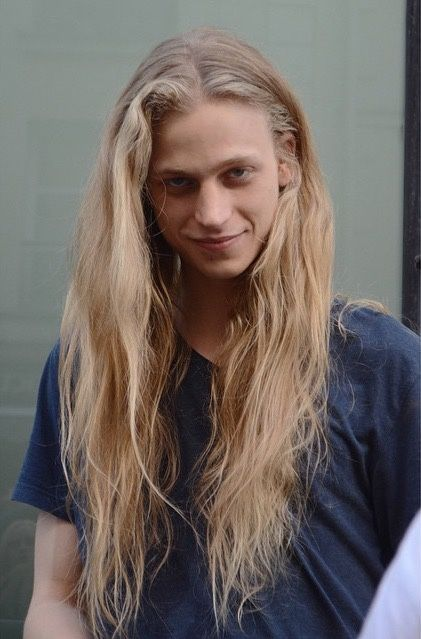 Male Model Konan Hanbury Guys Long Hair Long Hair Styles