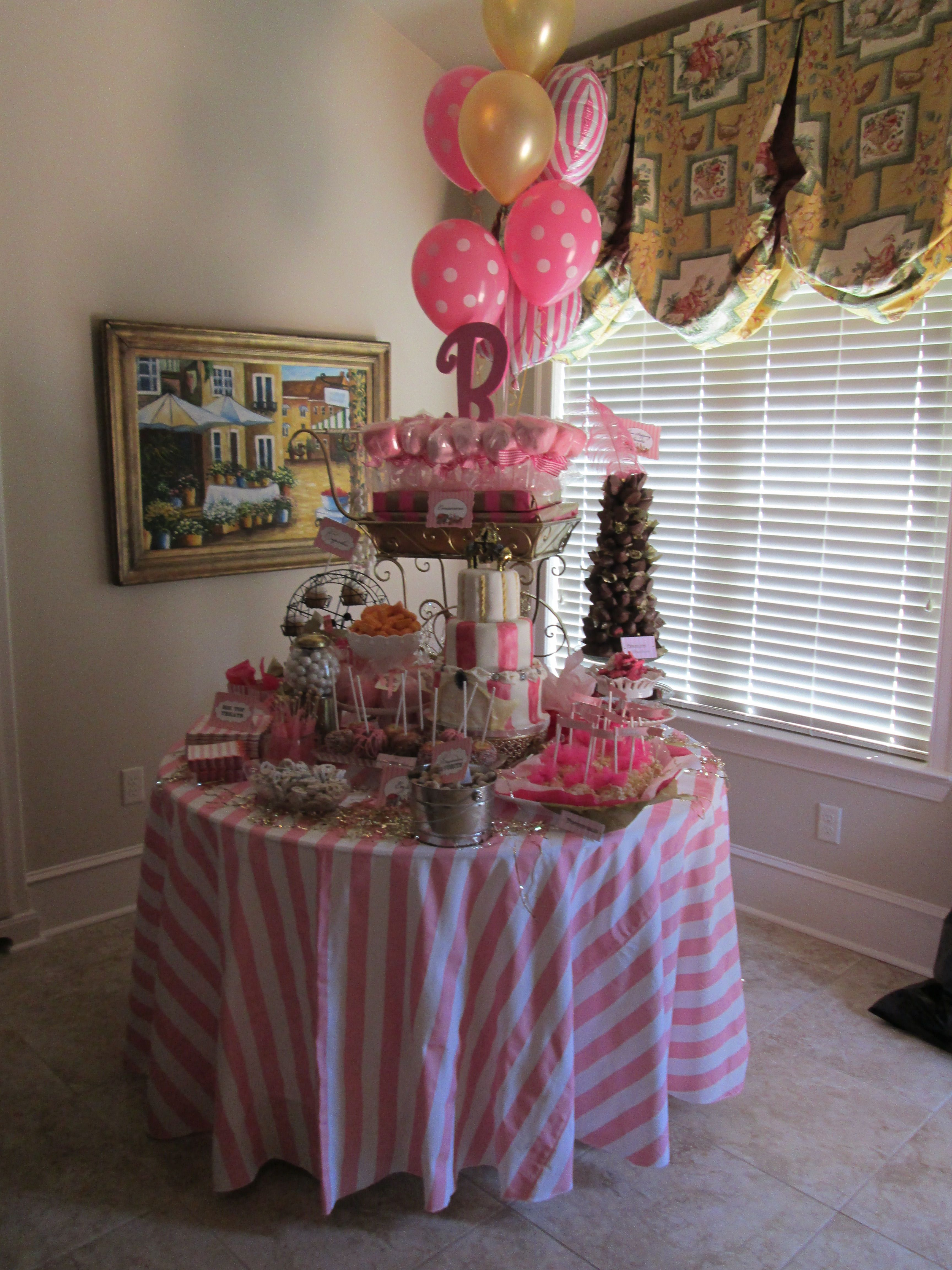 Whimsical Circus Baby Shower