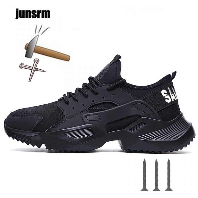 Mens Womens Steel Toe Work Safety Hiking Boots Sports Sneakers Shoes Lightweight