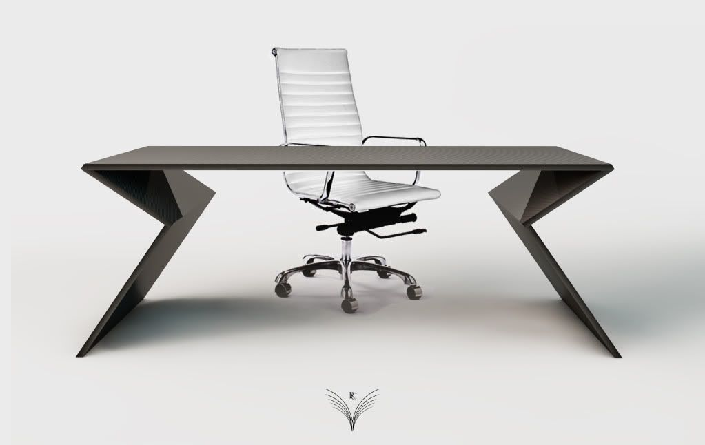 Rc Desk Carbon Fiber Office Table Mobiliario Futurista Diseno