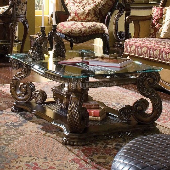 Oppulente Rectangular Cocktail Table Coffee Table Dining Room Furniture Design Ornate Furniture