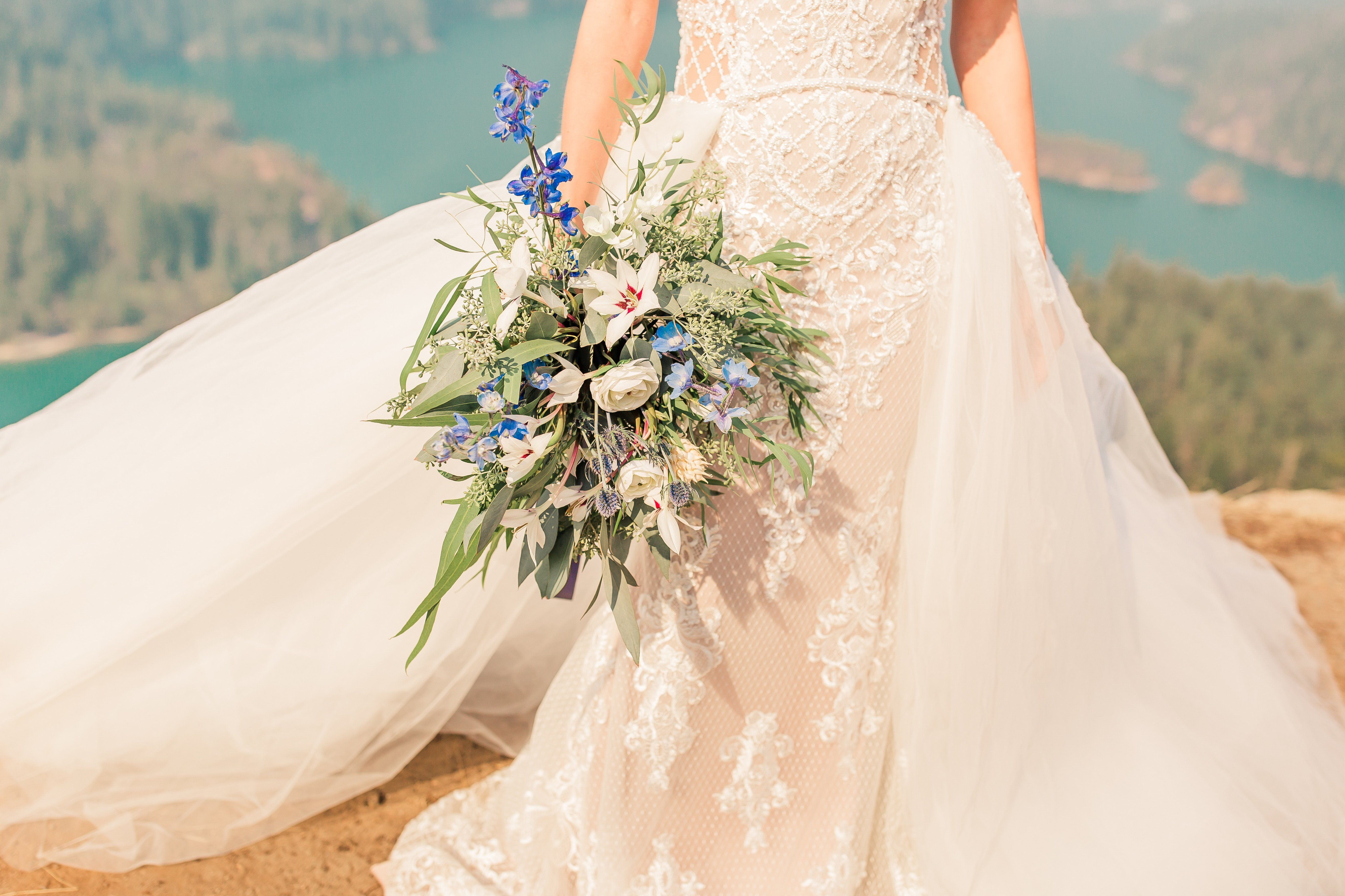 Detachable Bridal Overskirt (Andreas) Wedding dresses