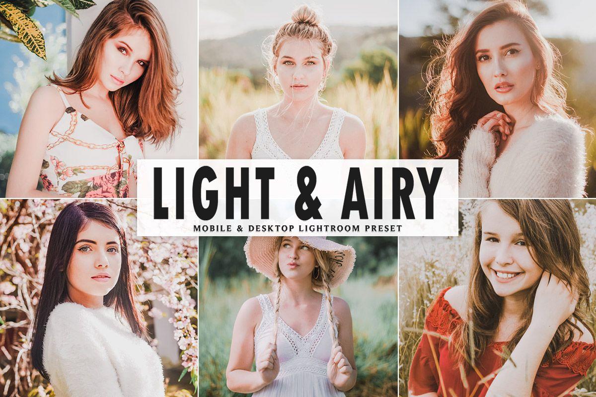 Free Light & Airy Mobile & Desktop Lightroom Preset