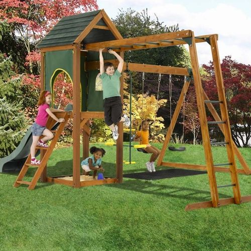 Plum Products Kudu Wooden Play Centre www.activitytoysd ...