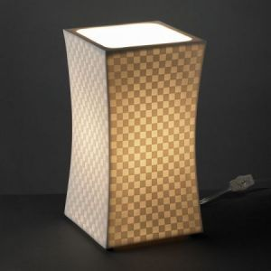 Charming Justice Design Group POR 8870 Limoges Hourglass Square Accent Table Light  Awesome Design