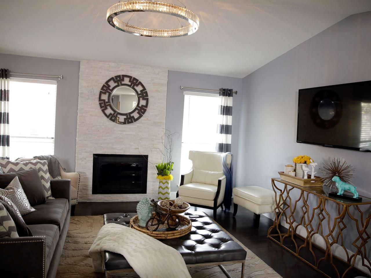 Living Room Color Schemes Gray Shawn Samira Project Property Brothers Dream Home Ideas