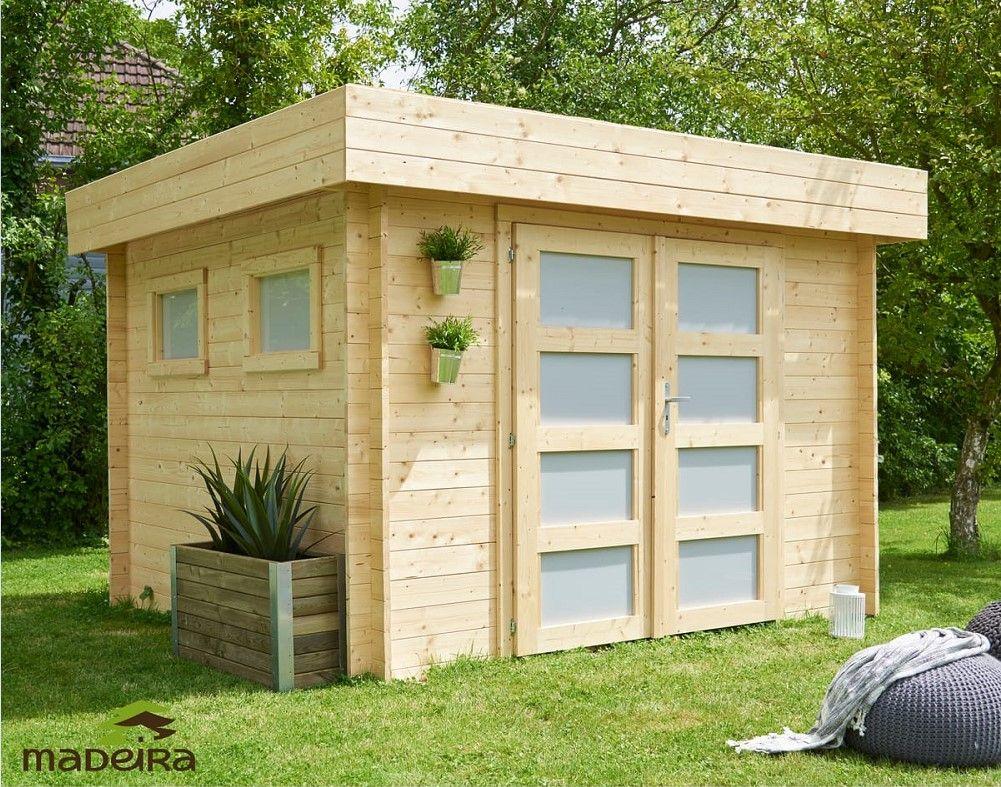 Abri de jardin bois BILBAO 6.69m² pas cher 28mm prix Abri de jardin Auchan 1 4ec328e3e473