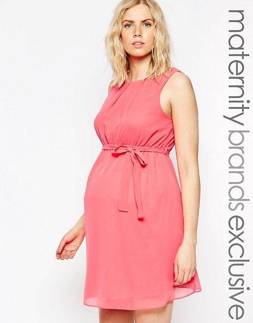 1d71b2644 Vestido de chifón de New Look Maternity