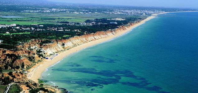Falésia beach, Algarve