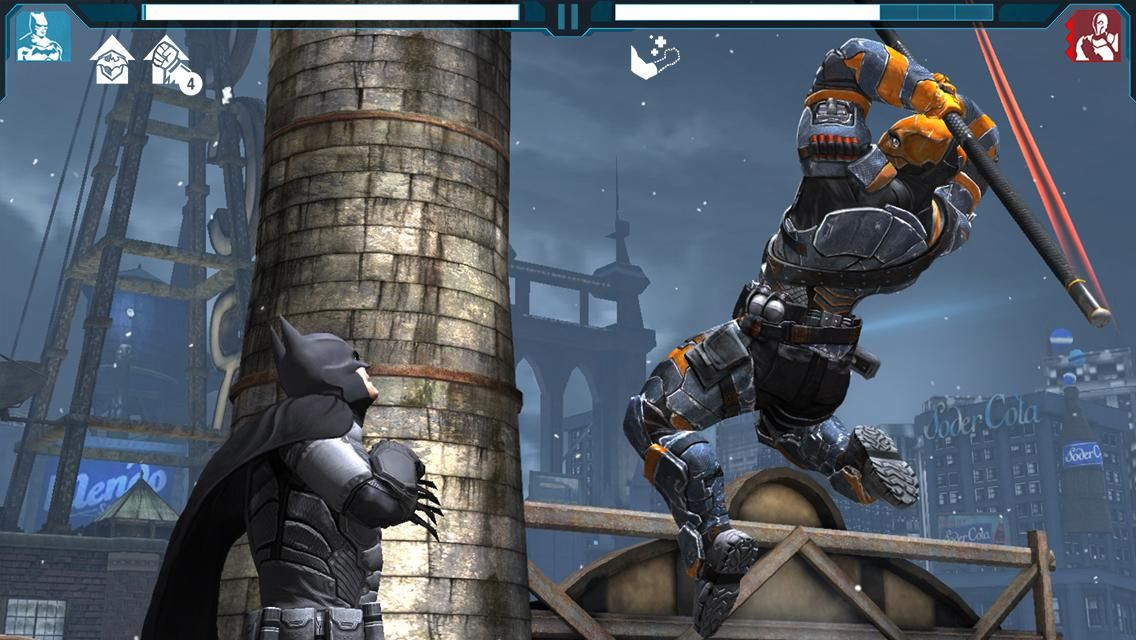 batman arkham origins mod apk+data (unlimited money)