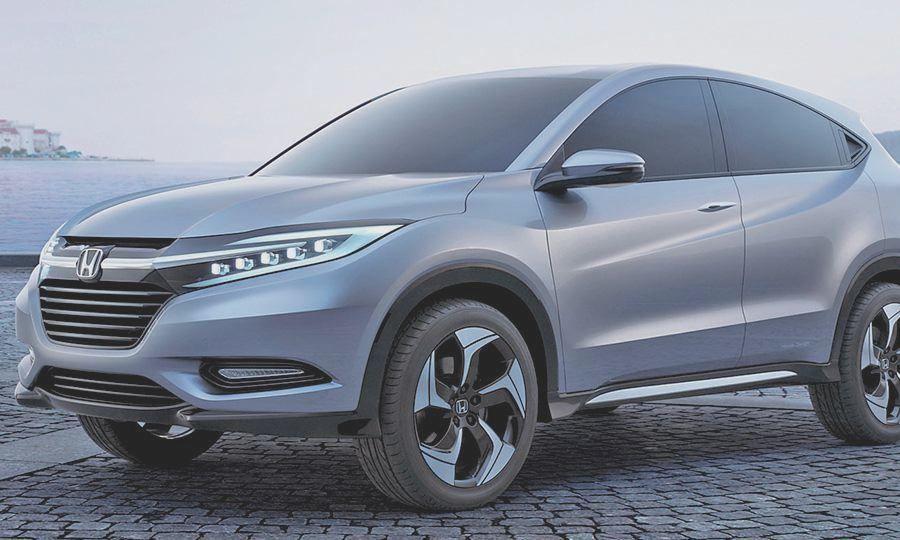 2017 Honda CRV Concept  Honda CRV  Pinterest  Honda 2017 and