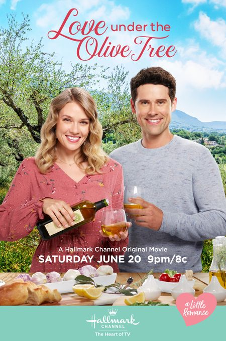Its a Wonderful Movie - Your Guide to Family and Christmas Movies on TV: 🌳♥ Love Under the Olive Tree -a Hallmark Channel Movie Starring Tori Anderson & Benjamin Hollingsworth! 🍂 🎃