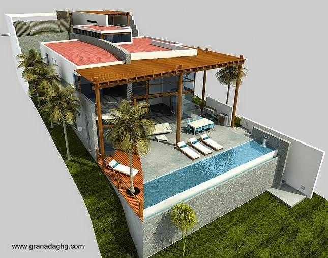 Blog de arquitectura residencial casas familiares y for Disenos de casas de playa pequenas