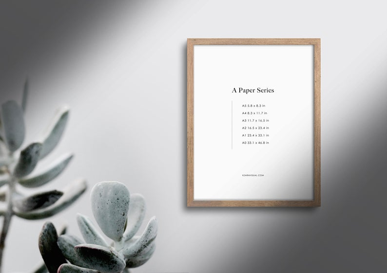 Frame Mockup 281 Earth Series Walnut Wood Portrait Botanical Photo Frame Mockup A4 Wall Art Display Psd Smart Object In 2020 Boho Frame Frame Mockups Scandinavian Frames