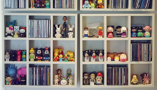 Tiny Toy Shelf Toy Rooms Displaying Collections Toy Display