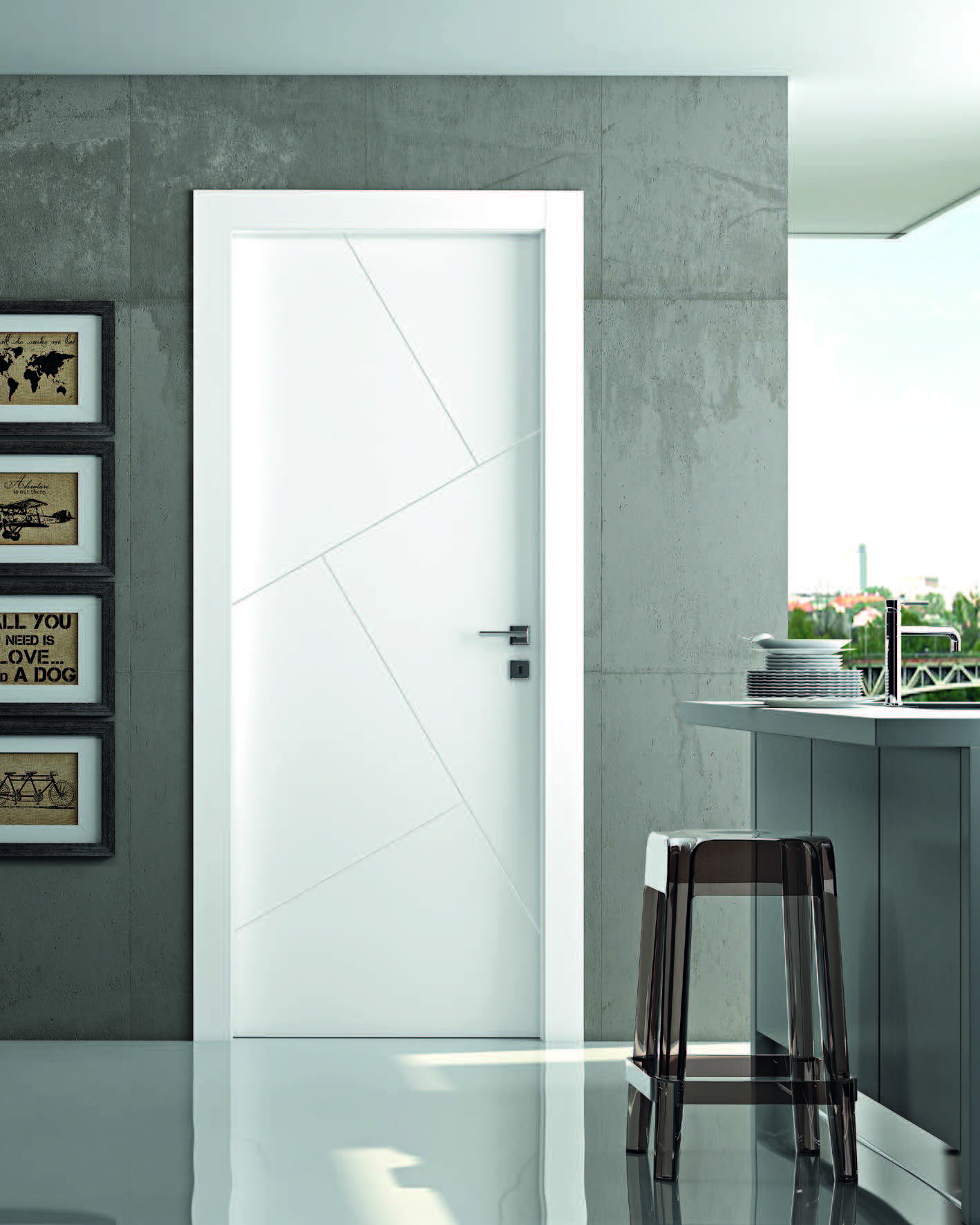 2 Modern interior door companies that fit any style home ...