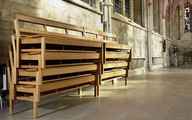Pews move back into churches after plastic seat horror