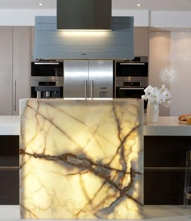 Backlit Onyx Will This Be Nice Feature For Kitchen Under