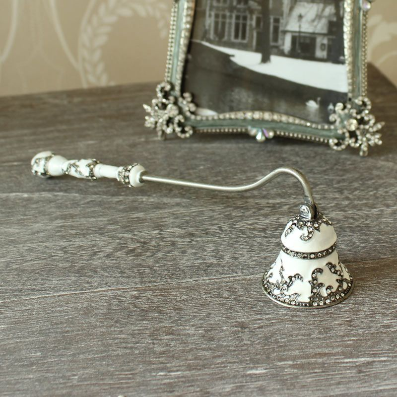 £14.95 White Bell Candle Snuffer