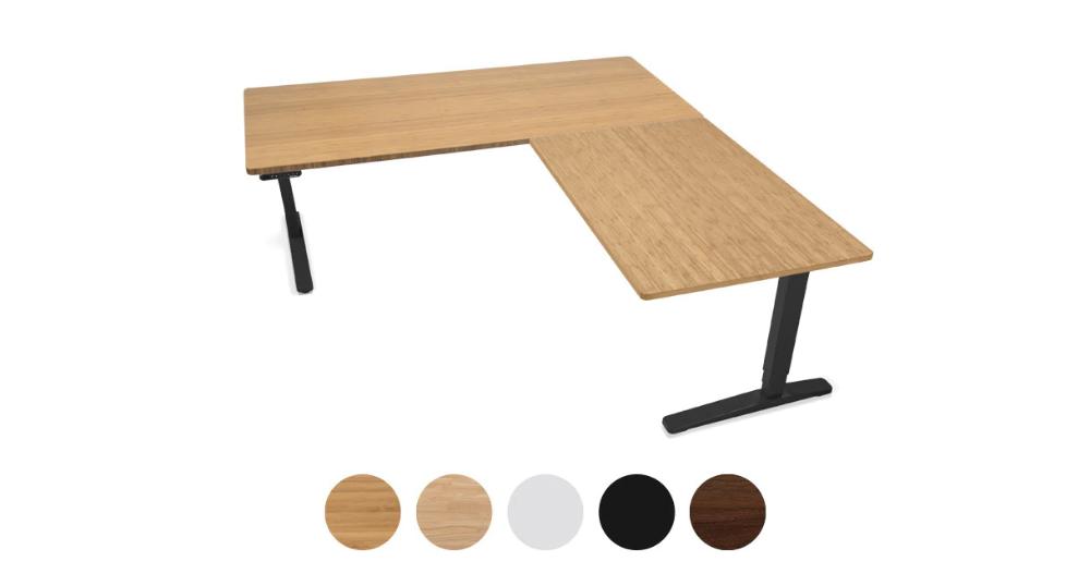 Uplift L Shaped Standing Desk V2 V2 Commercial Stand Up Desk Adjustable Height Desk Sit Stand Workstation