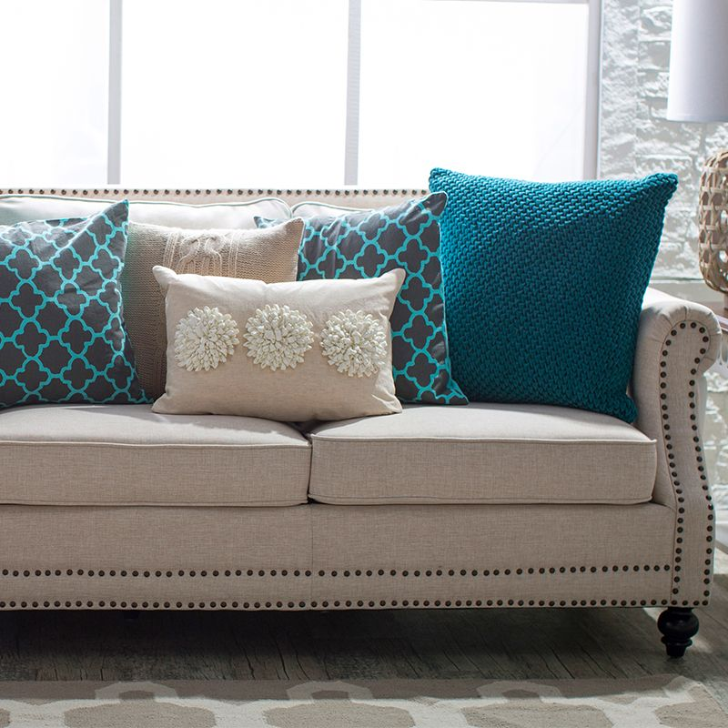 5 Ways To Decorate A Neutral Sofa With