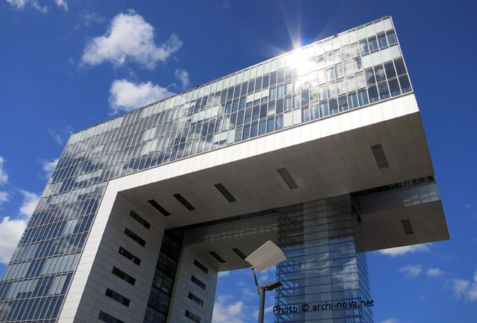 Cologne Kranhaus Rheinauhafen Kranhaus Architektur Haus