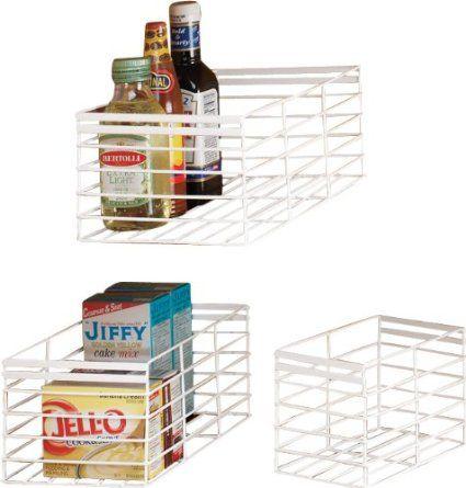 Amazon.com: DAZZ Rust Proof Set of 3 Wire Basket Organizers,Small/Medium/Large: Home & Kitchen