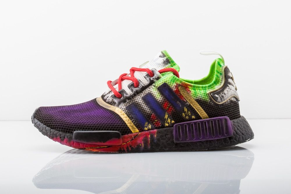 e4ba41559 Kickasso Kustoms — Joker NMD Custom Sneakers