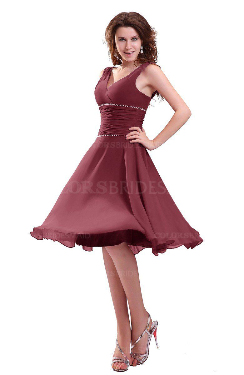 25d4438f64b45 ColsBM Marina Informal Zipper Chiffon Knee Length Sequin Bridesmaid Dresses  #colsbm #bridesmaids #bridesmaiddress #weddings .
