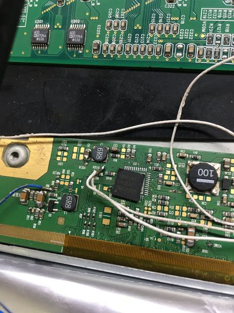 Lcd Led Tv Board Emmc Pinouts And Voltage Details