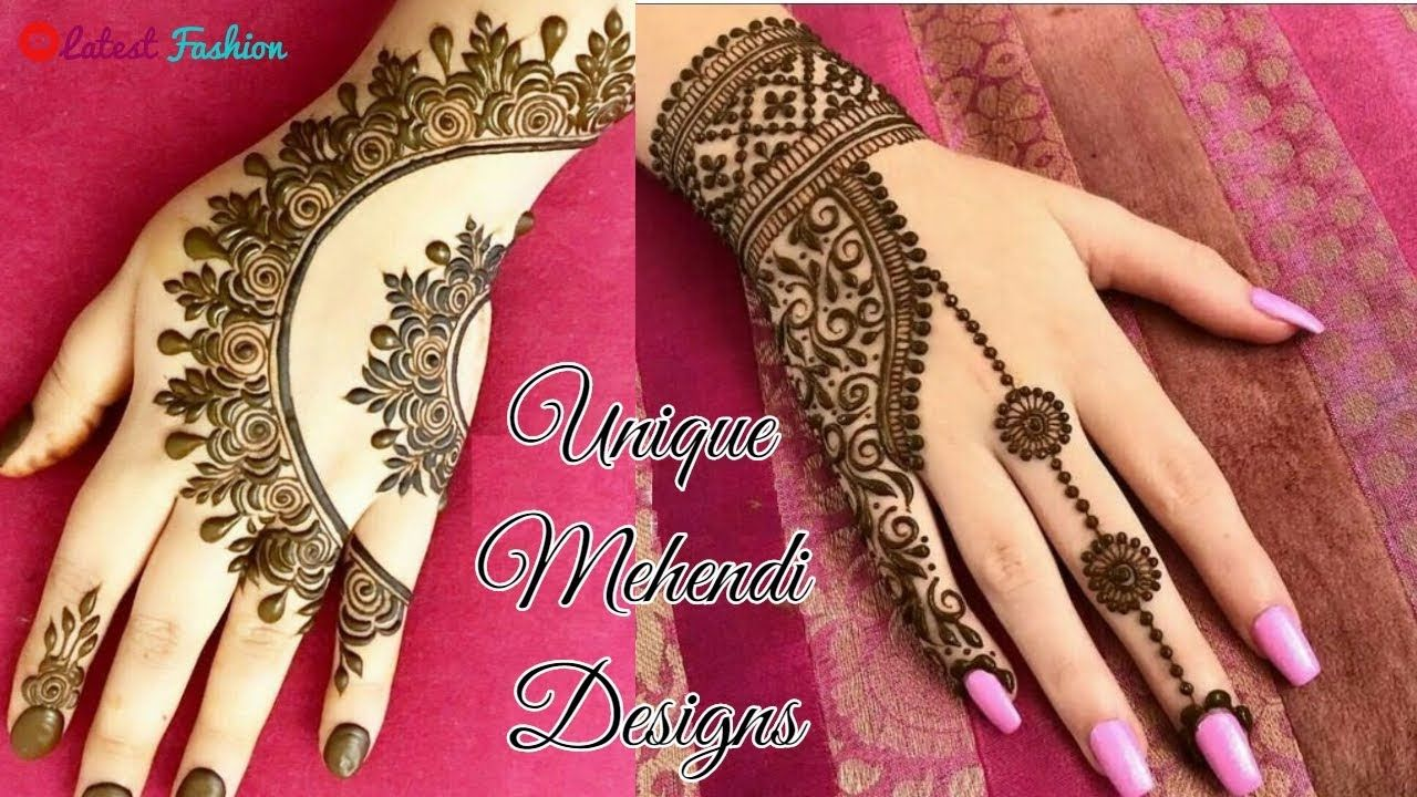 New mehndi stylish designs recommend to wear in spring in 2019