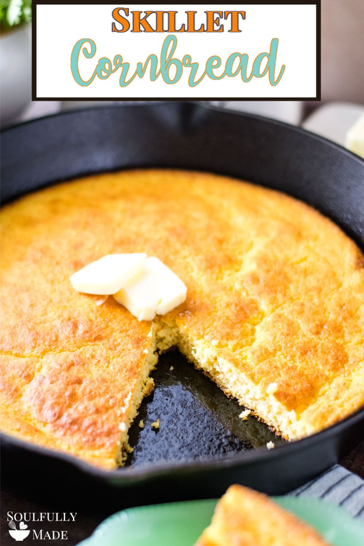 Skillet Cornbread Recipe Without Buttermilk