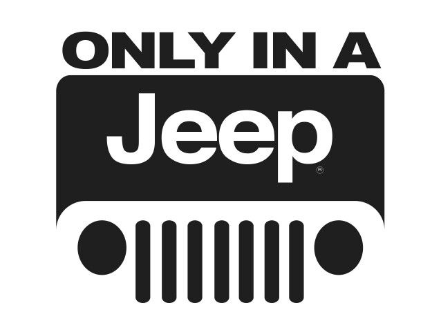 Only In A Jeep Logo Vector Jeep Art Logo Wallpaper Hd Jeep